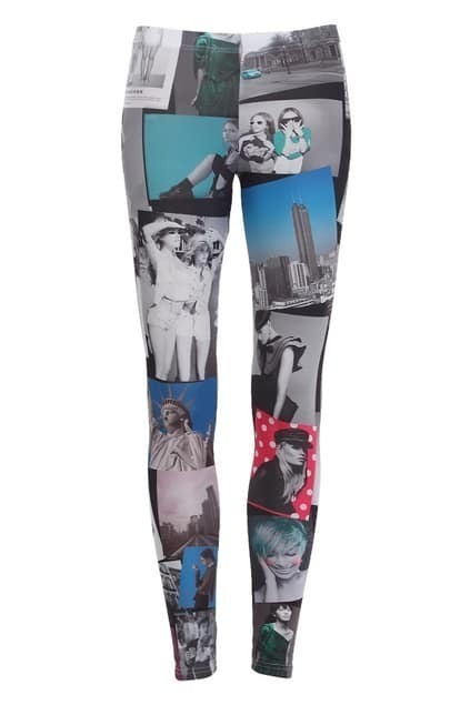 Photograph Print Leggings