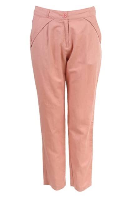 OL Style Pink Harem Pants