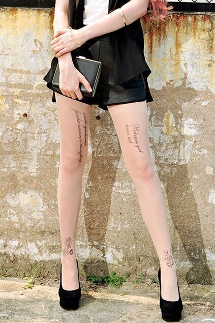 Empire Waist Leather  Black Shorts