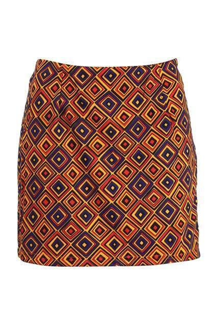 Geometrical Patterning Skirt