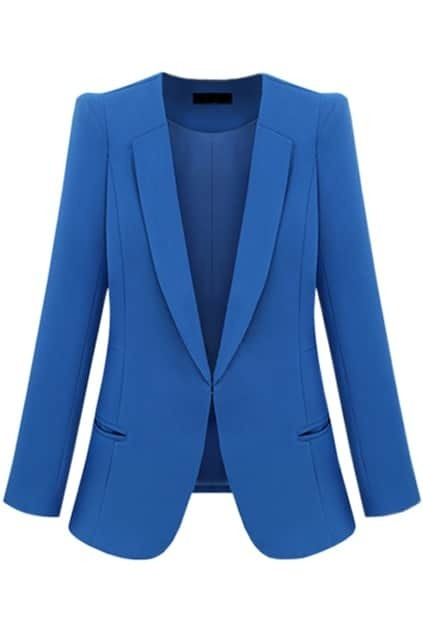 Pocket Blue Blazer