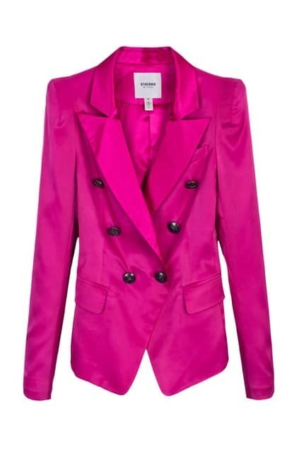 Double Breasted Rose Blazer
