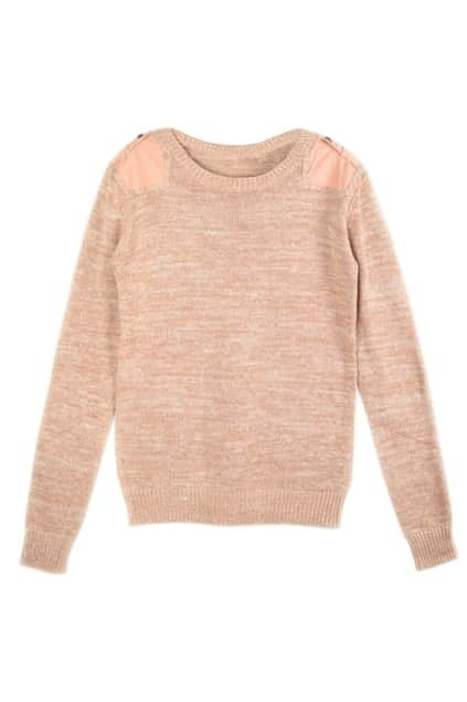 Patch Pink Sweater