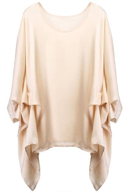 Multi-layered Cream Pullover