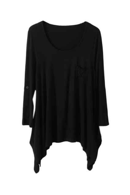 Black Main Anomalous T-shirt