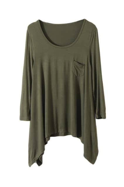 Army Green Main Anomalous T-shirt