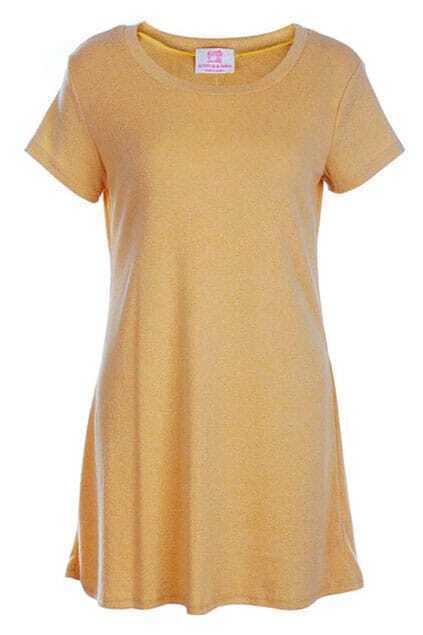 Scoop Neck Croci Dress