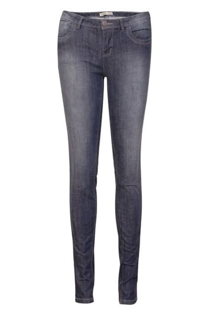 Rinse Threadbare Denim Blue Pants