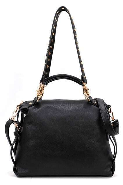 Double Using Leisure Black Bag