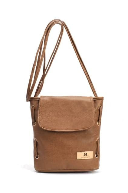 Retro Cute Brown Bag