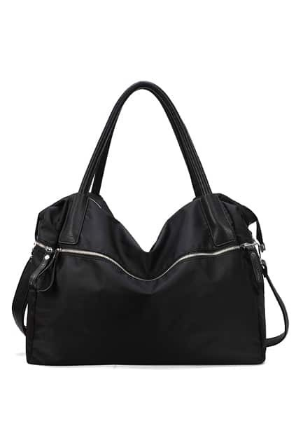 Patent Black Zip Top Bag