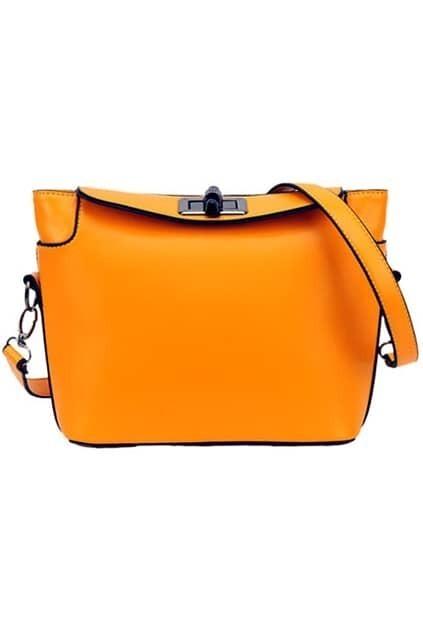 Orange Twistlock Bag