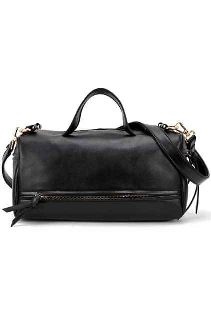 Brief Black Smooth Bag