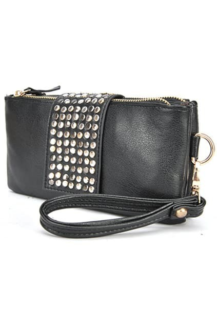 Black Stud Handbag