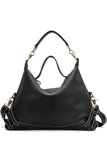 Black Croc Bag