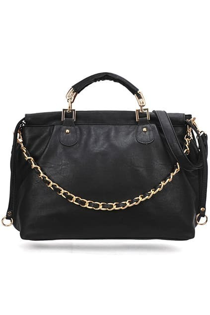 Retro-style Black Bag