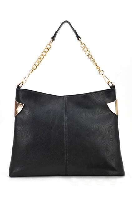 Street Style Black Bag