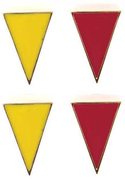 Triangle Metal Earrings
