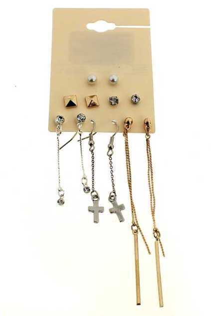 Multipack Charm Earrings