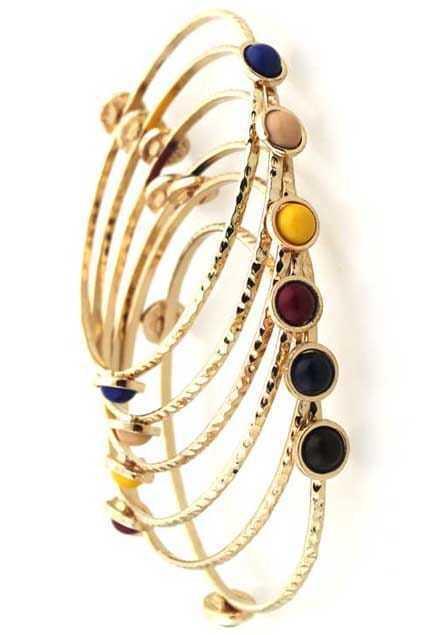 Pearl Metal Assorted Bracelets
