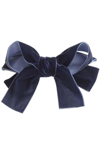 Dark Blue Bowknot Hair Clip