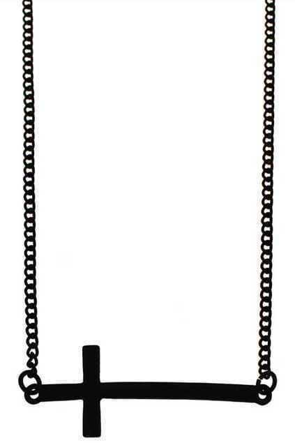 Cross Charm Pendant Necklace