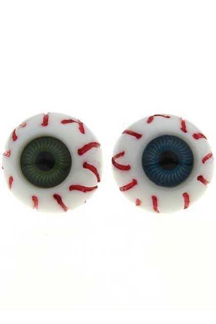 Eyes-hape Stud Plastic Ring