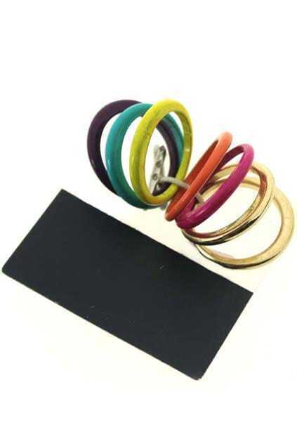 Multipack Colored Ring