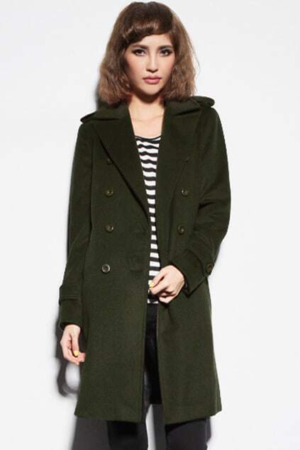 Shoulder Epaulets Green coat