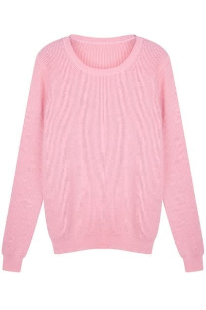 Soft Touch Pink Jumper