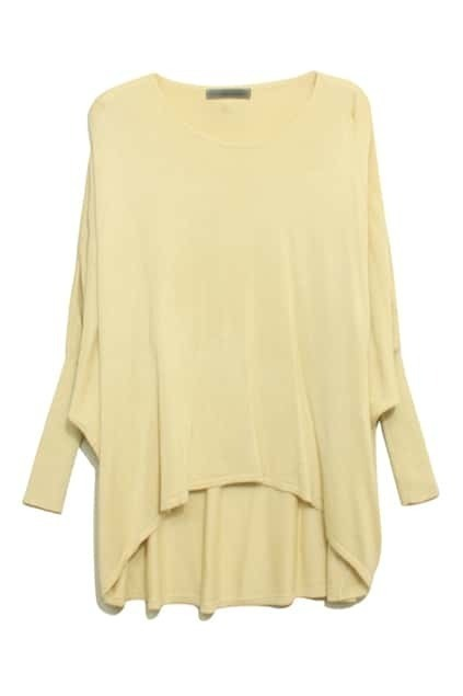 Cream Main Anomalous Jumper