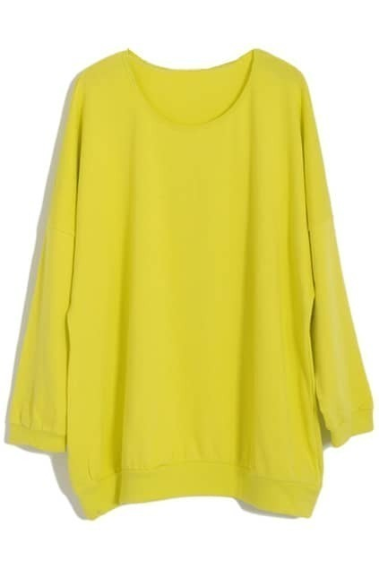 Oversized Yellow Top