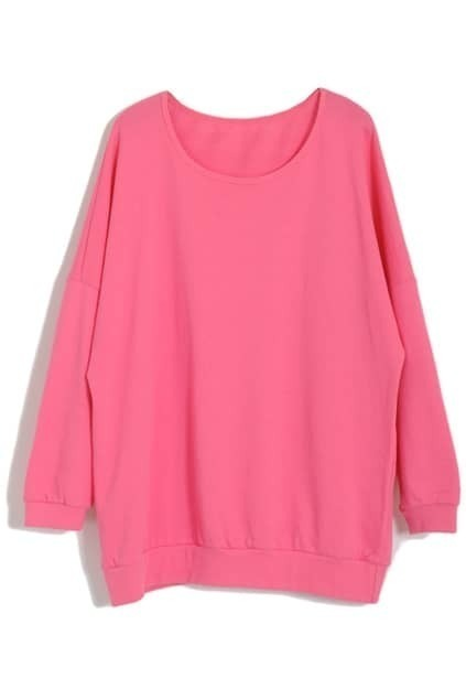 Oversized Pink Top