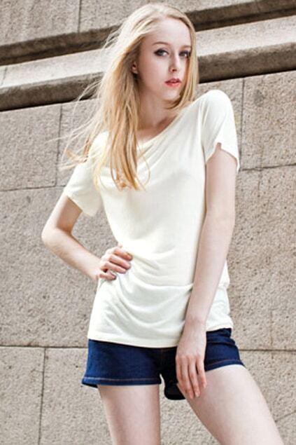 Short Sleeves White T-shirt