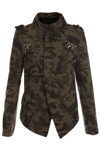 Threadbare Diamond Camouflage Jacket