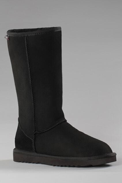 Aukoala Australia Black Milan Tall Boots