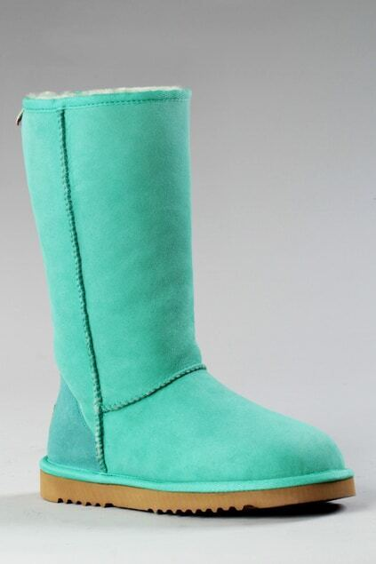 Aukoala Australia Light-green Milan Tall Boots