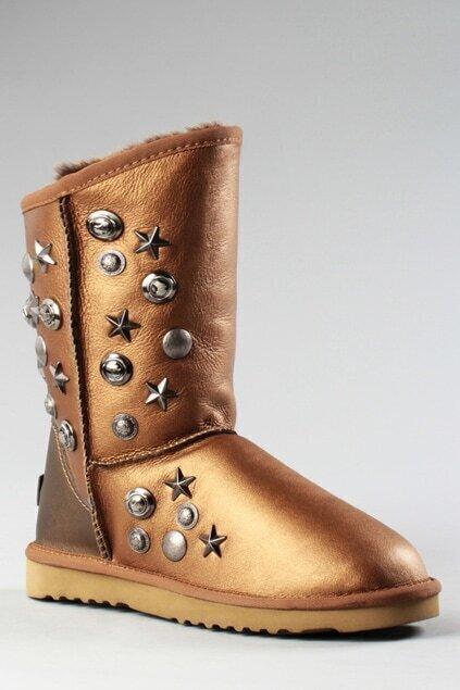 Aukoala Australia Apollo Gold Boots