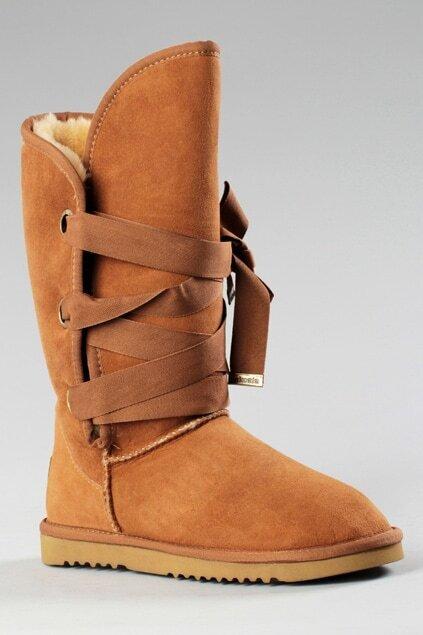 Aukoala Australia Roxy Short Khaki Boots