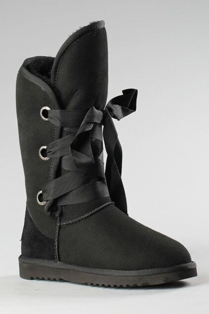 Aukoala Australia Roxy Short Black Boots