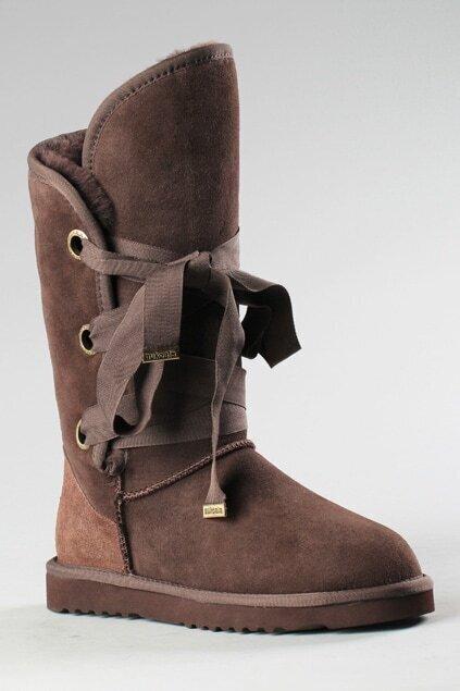 Aukoala Australia Roxy Short Coffee Boots