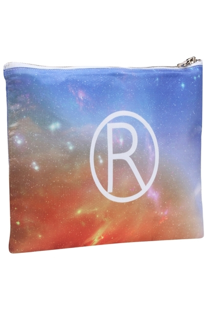 Romwe Logo Galaxy Print Bag
