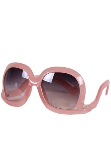 Oversized Square Pink Sunglasses