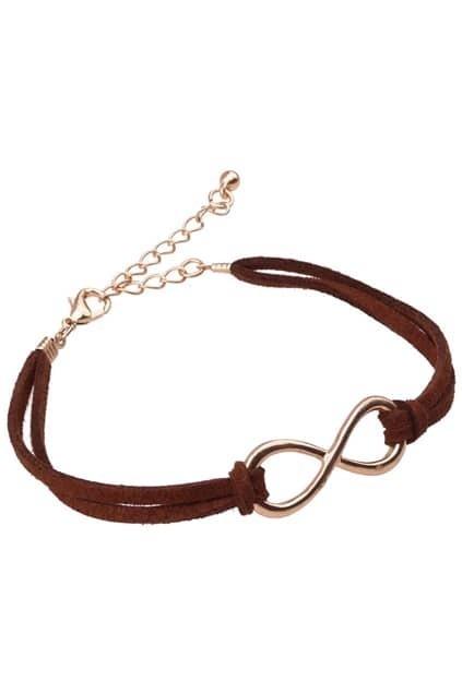 8-shaped Charm Bracelet