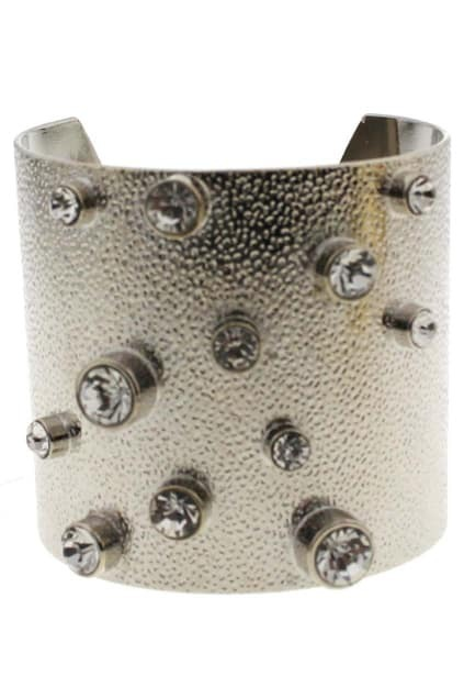 Diamante Wide Cuff Bracelet