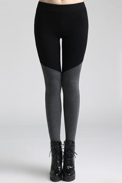 Montage Elastic Black Leggings