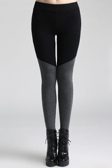 Montage Elastic Black Leggings