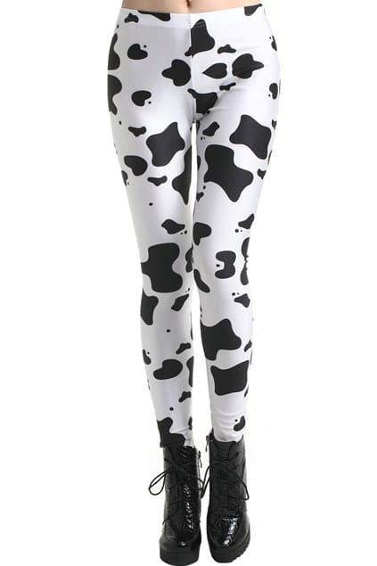 Dairy Cow Print Leggings