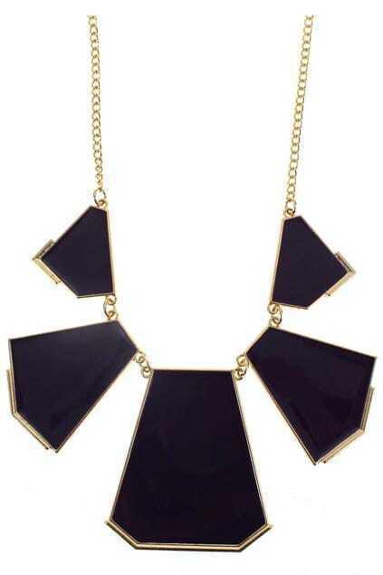 Polygon Pendant Necklace