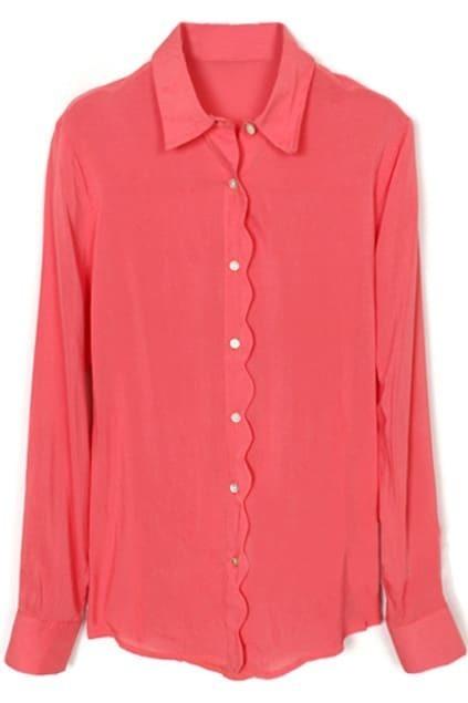 Wavy Pink Shirt